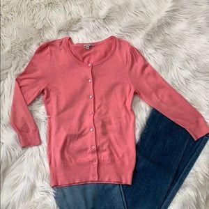 Halogen pink cardigan